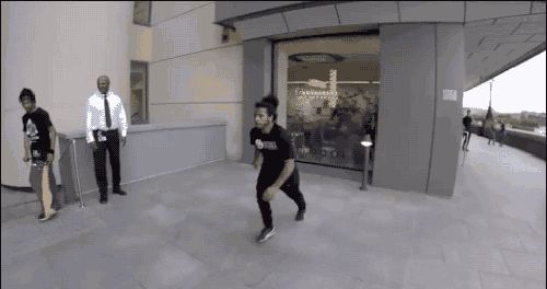 New trending GIF on Giphy. insane parkour skill. Follow Me CooliPhone6Case on Twitter Facebook Google Instagram LinkedIn Blogger Tumblr Youtube