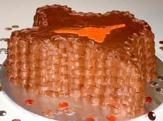 Texas Longhorns Groom's Cake