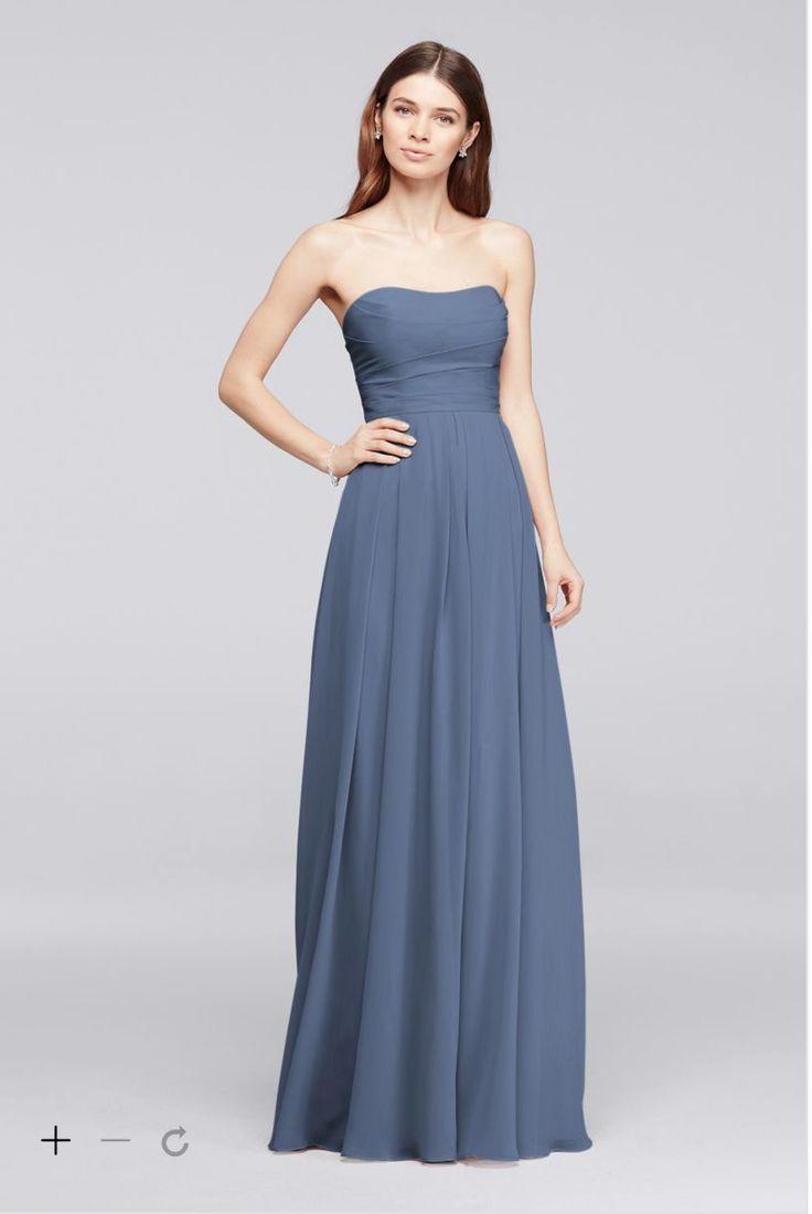 Best 25+ Steel blue bridesmaid dresses ideas on Pinterest ...