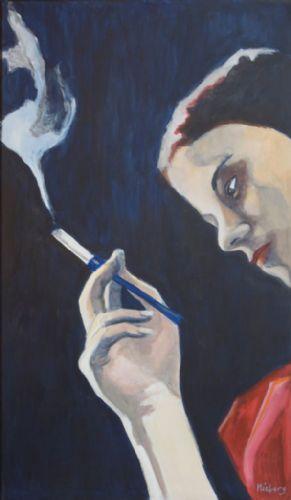 Mini-expositie met beschikbaar werk van Monique Nieberg nu bij Kunstuitleen Zwolle