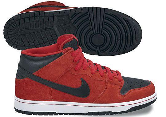 Nike Sb Dunk Mid Pro Sport Grey