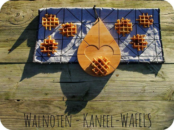 Fête des Gamins: Walnoten-kaneel-wafels