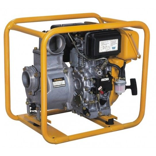 Subaru Diesel Water Pumps are a popular choice for mine sites, heavy industry job sites and farms using diesel power equipment