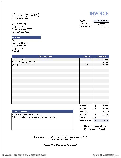 free invoice template career pinterest