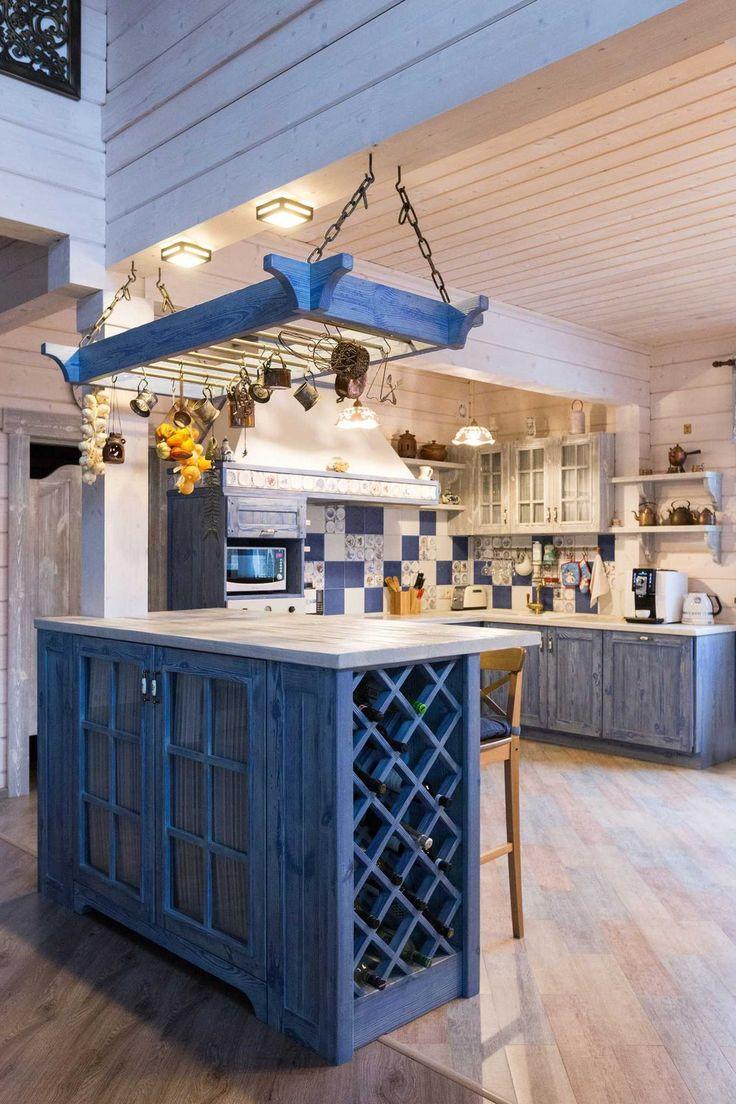 Деревянная кухня в стиле кантри - Кухня – сердце дома | PINWIN - конкурсы для архитекторов, дизайнеров, декораторов