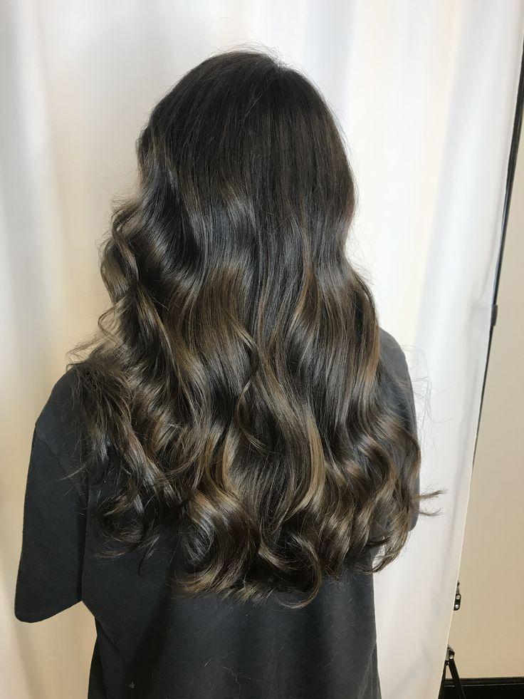 Balayage Ombré Brunette Long hair Dark Balayage
