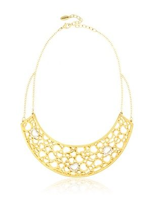 50% OFF T Tahari Lace of Hearts Statement Necklace