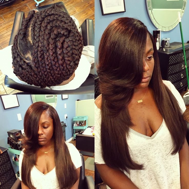 Quick Weave Style Quick Weave Full Head In 2019 Weave