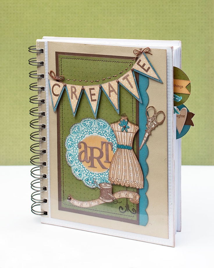 #DIY journal from #CTMH.