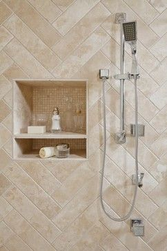 Neutral Tile Shower Design Ideas, Pictures, Remodel, and Decor - page 2