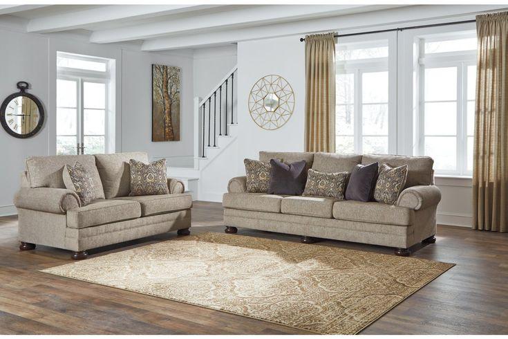 Kananwood Sofa And Loveseat Ashley Furniture Homestore Living Room Sets Furniture Oatmeal Sofas