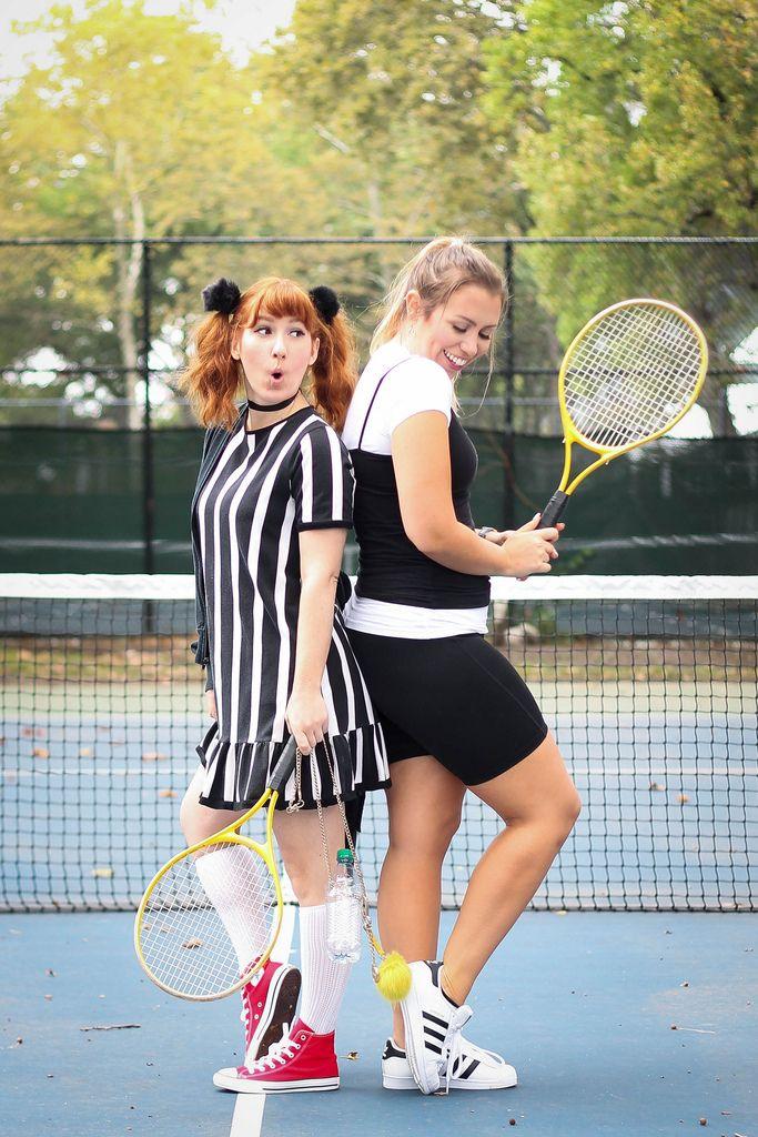Cher & Amber Clueless Movie Tennis 90s Halloween Costumes