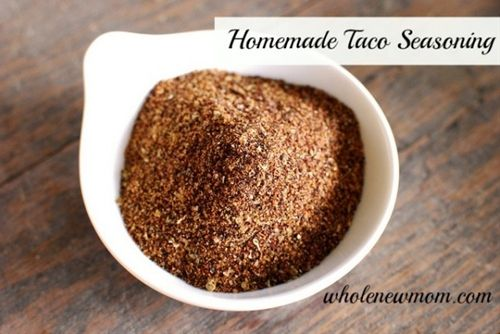Seasoning on Pinterest | Homemade taco seasoning mix, Homemade taco ...
