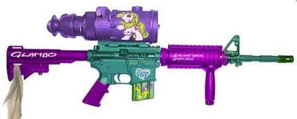 Gun Hello Kitty Assault Rifle | ... Carbine - a great companion to the Hello Kitty rifle : Shiny Shiny