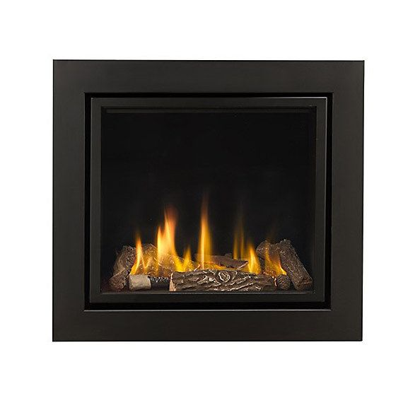 Ignite Black Remote Control Inset Gas Fire Gas Fires Gas B Q