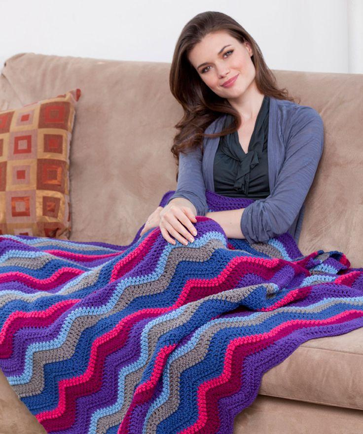 280 Best Crochet Blankets Images On Pinterest Tricot Crochet