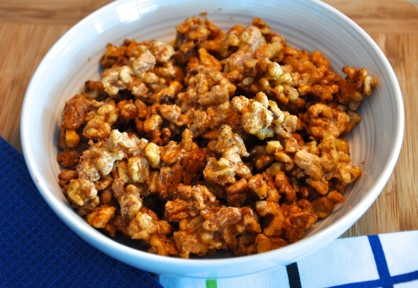 Maple candied walnuts | Snacks | Pinterest