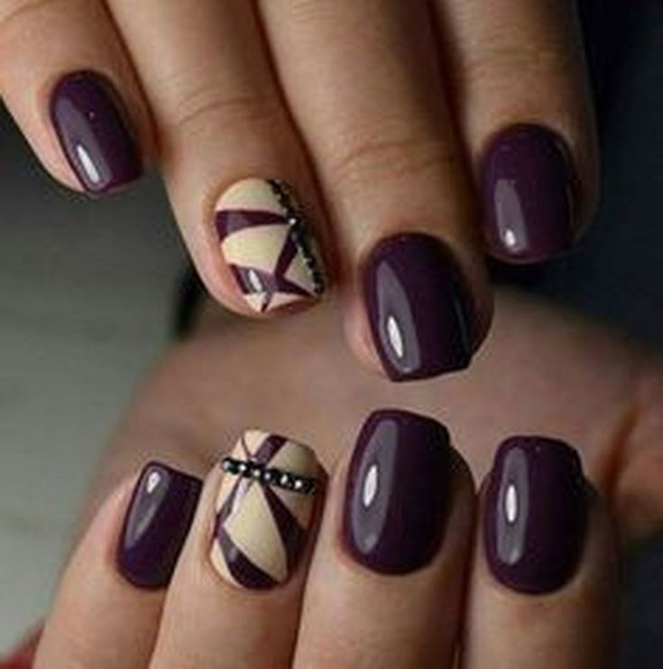 Easy Fall Nail Designs: Best 25+ Simple Fall Nails Ideas On Pinterest