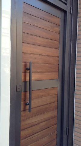 328 best images about puertas modernas on pinterest - Puertas modernas exterior ...