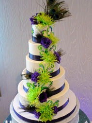 purple and lime green wedding cakes 130 best color purple and lime images on 18862