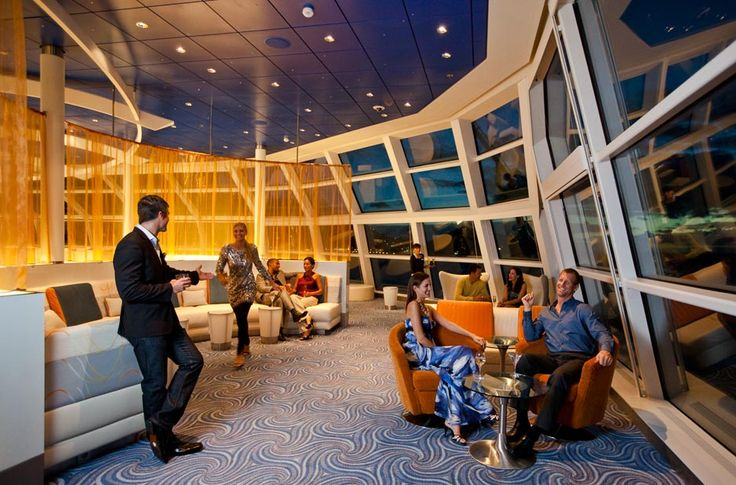 CELEBRITY CRUISES - CELEBRITY ECLIPSE   Sky Observation Lounge