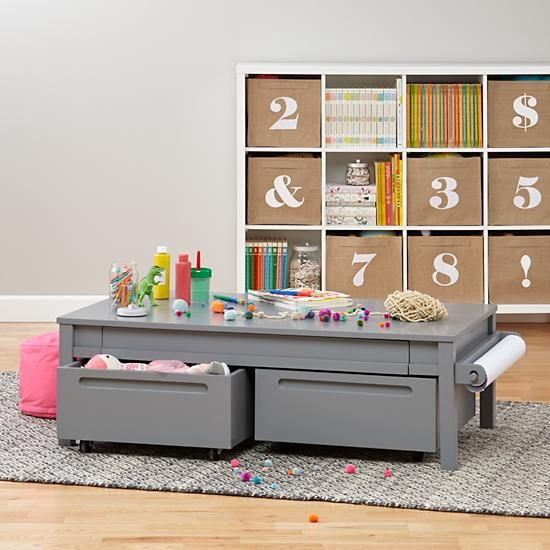 Extracurricular Play Table 15 (Grey) | The Land of Nod