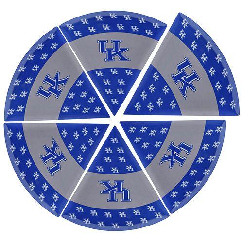 University of Kentucky Pizza Plate, Set of 6 #UniversityofKentucky #Wildcats #basketball