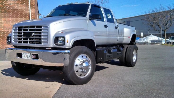 CUSTOM, LOADED, CHEVROLET TOP KICK 6500 CREW CAB!!! Kodiak ...