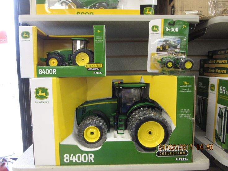 1/16th.1/32nd & 1/64th John Deere 8400R tractors
