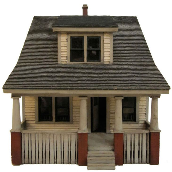 architectual house model: 1930 subdivision model. want.