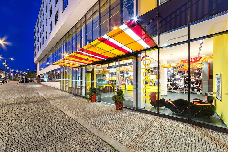 Welcome to the centrally located #design hotel Vienna House Easy Angelo Pilsen!