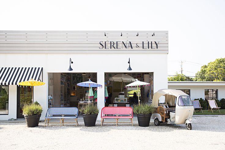 Beach Market. #serenaandlily @dominomag