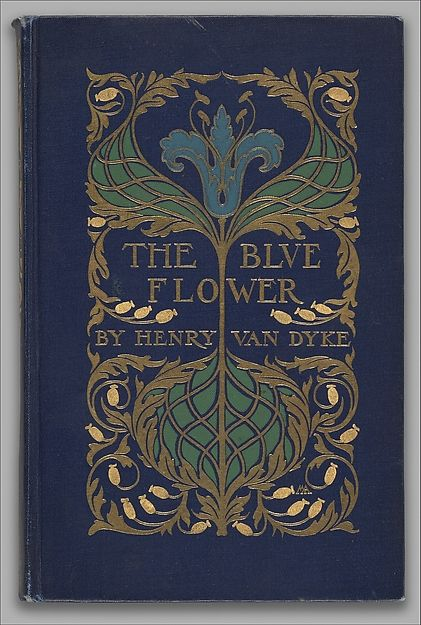 The Blue Flower Binding designed by Margaret Neilson Armstrong