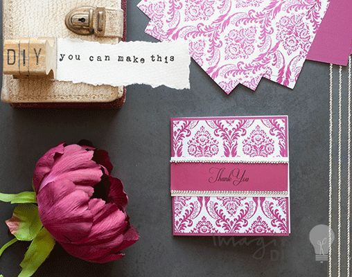 Red and white DIY wedding cards. How to make your own wedding stationery. Make Invitations, RSVP, favours, place cards, order of service and menu covers and more.