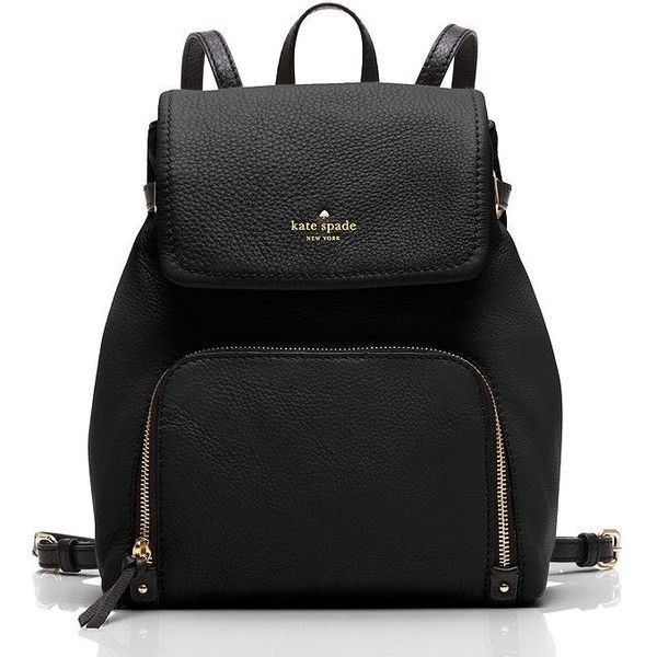 Kate Spade New York, This sleek, 90s-inspired backpack boasts a bunch of smart details, including adjustable straps, a magnetized flap closure and--our favorit…