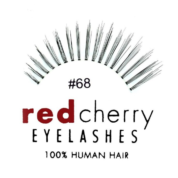 Red Cherry 68 False Eyelashes (Pack of 6) >>> Click on the image for additional details.