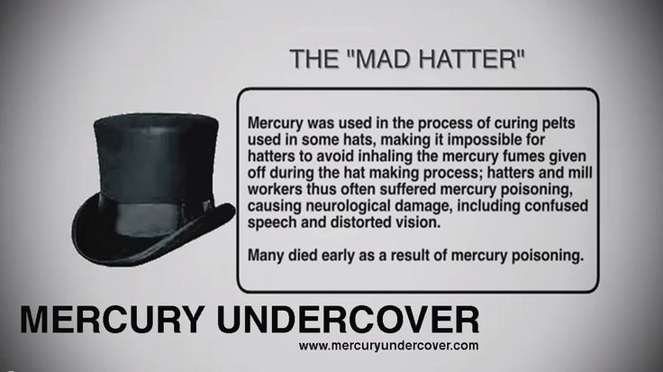 mad hatter mercury - Google Search