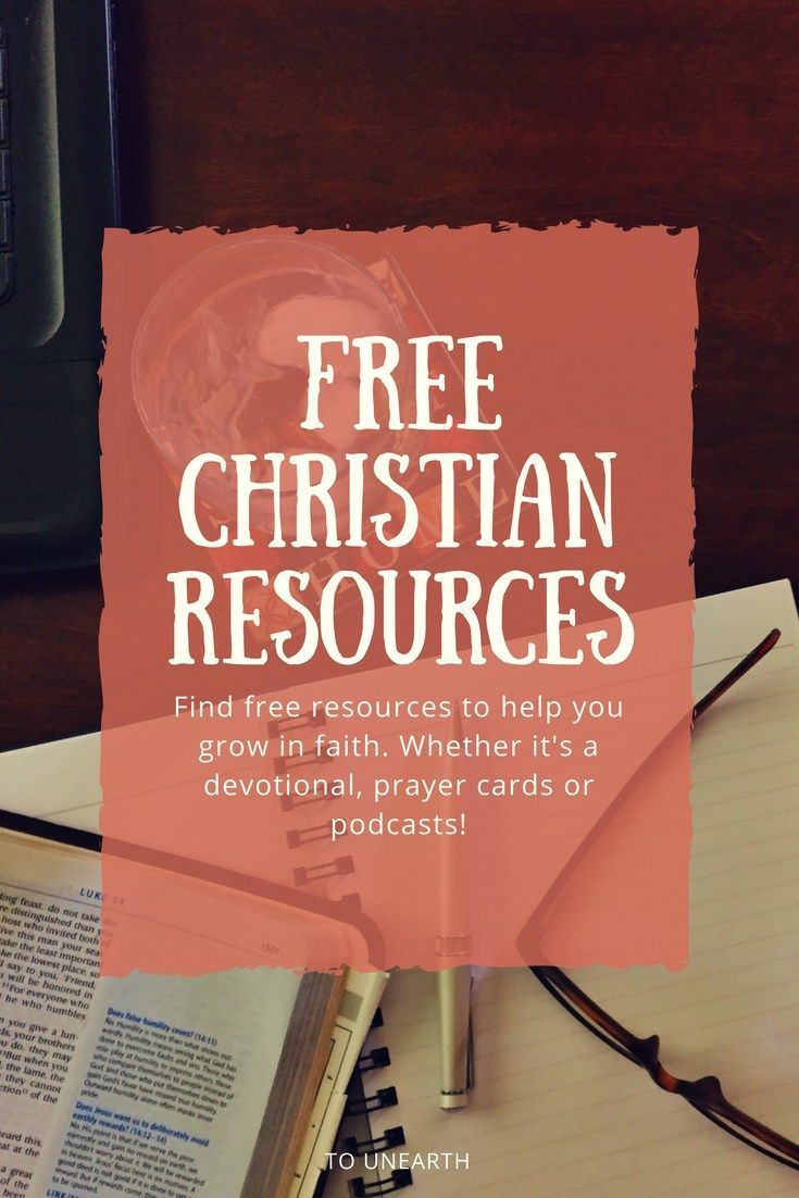 Looking for free Christian resources that will help you grow