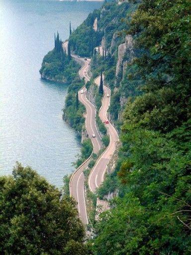 Tremosine, Italy, province of Brescia Lombardy
