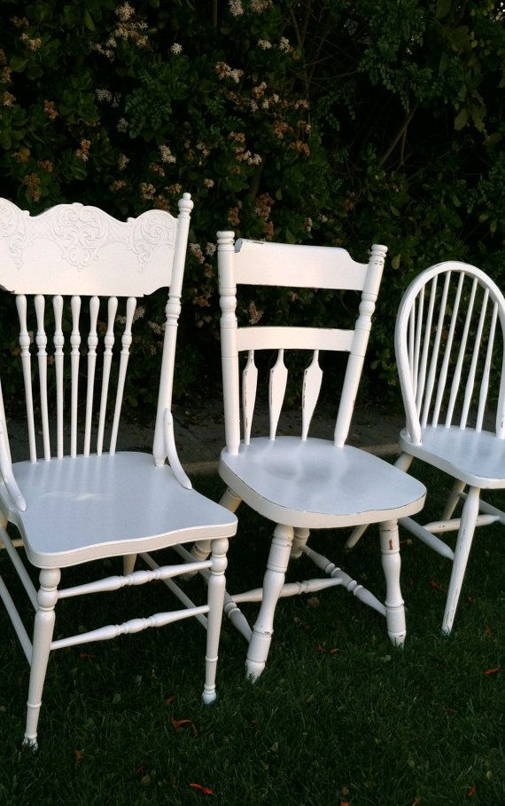 Custom Order Dining Chairs, Set of 4, Vintage Spindle Chairs on Etsy, $299.00