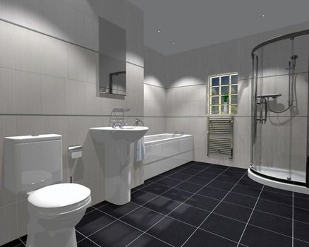 17 best contemporary houzz images on Pinterest Bathroom wall