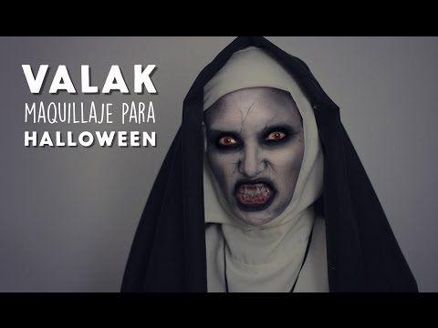 Maquillaje de Valak / El Conjuro 2 MUY FÁCIL! - YouTube