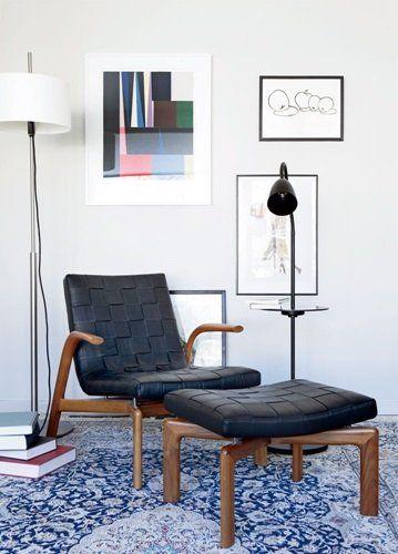 Arkipelag Floor lamp with table. Designed by Niclas Hoflin for Rubn.com