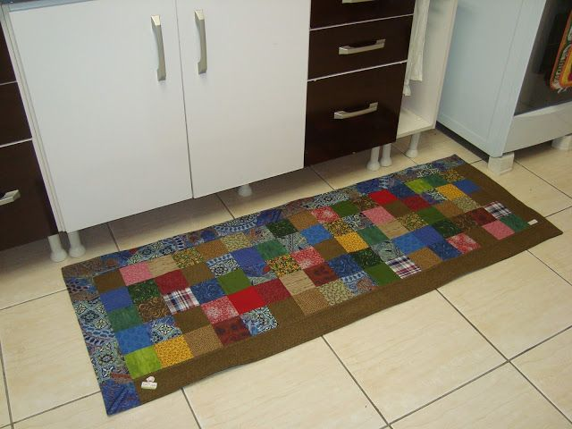 Tapete Patchwork Simples : Tapete Patchwork on Pinterest Throw Rugs, Patchwork Rugs and Tapete