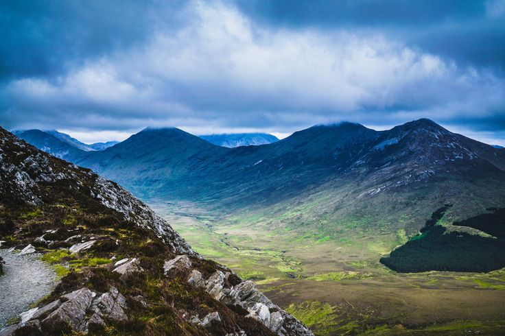 #Connemara National Park, #Ireland--Download this photo in Letterfrack, Ireland by Robert Ruggiero (@rvruggiero)