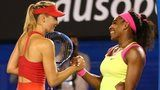 Serena Williams beat Maria Sharapova to win her sixth Australian Open and 19th Grand Slam title. The American world number one served superbly to win a pulsating final 6-3 7-6 (7-5) after Sharapova fought back in the second set. Williams, 33, moves past Martina Navratilova and Chris Evert with a 19th major singles title.