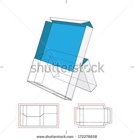 Display Stand with Blueprint Layout