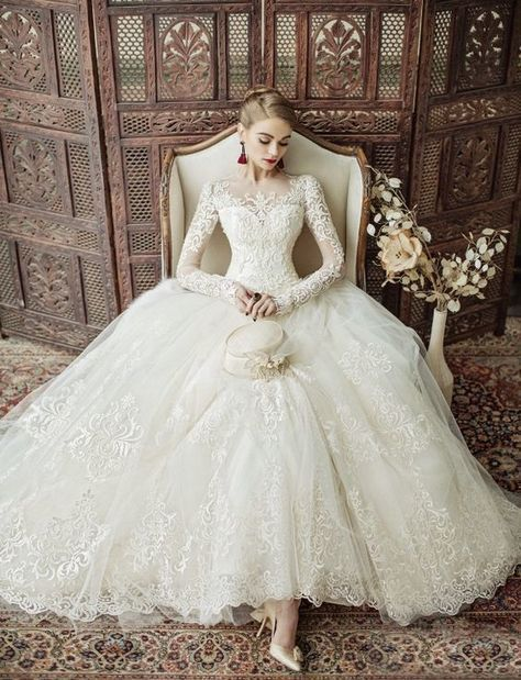 WEDDING INSPIRATION: 20 of the most beautiful wedding dresses from ...