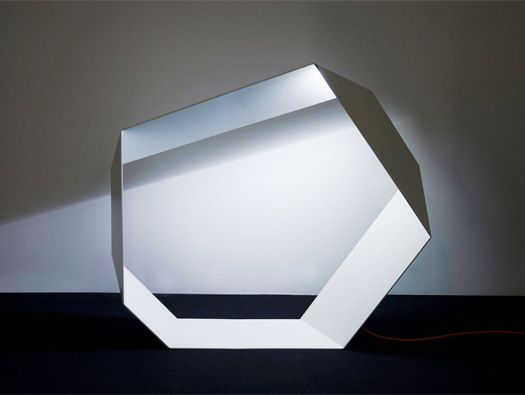 Angolo Origami LED Lamp by Michael Schmidt