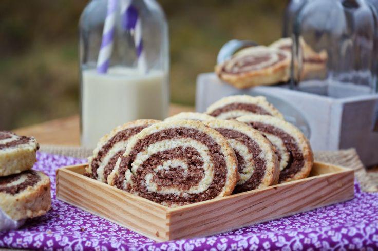 Troll a konyhámban: Kókuszos kakaós csiga keksz- paleo